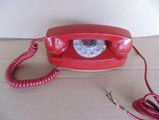 Vintage Red Princess Phone- 1970 Western Bell