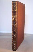 HISTOIRE DE LA POESIE / POESIE CHRETIENNE / A. HENRY / RELIURE 1/2 CUIR 1855