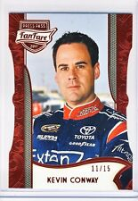 Kevin Conway 2011 Press Pass FanFare Racing Red Diecut Card 11/15