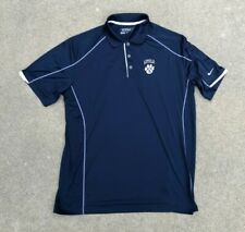 Nike Golf Men's Dri-Fit Tour Performance Loyola Navy Polo T Shirt | X-Large
