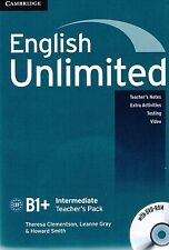 Cambridge ENGLISH UNLIMITED INTERMEDIATE Teacher's Pack/Book with DVD-ROM @NEW@
