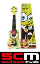 BRAND NEW IN BOX SPONGEBOB SQUAREPANTS UKULELE PACK w/ GIG BAG + UKE ACCESSORIES