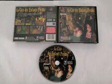 La Cité Des Enfants Perdus Jeu Game Sony PlayStation One 1 Ps1 PS 1 Pal
