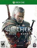The Witcher 3 Wild Hunt Xbox One ( Bonus Content World Map & Sticker )