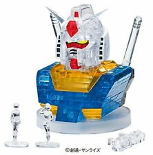 BEVERLY 3D Crystal Puzzle - RX-78-2 Gundam - 55peaces F/S w/Tracking# Japan New
