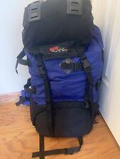 Ridgeway Kelty BLUE BLACK Hiking Internal Frame Backpack Mid-large Size