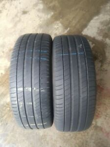 2x 225/50/18 MICHELIN PRIMACY 3 TYRE 4.5-5mm TESTED 225 50 18 2255018