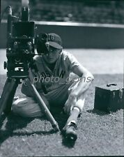 Young Ted Williams Red Sox Behind the Lense High Quality 8x10 Archival Photo