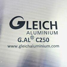 "New listing .25"" thick 1/4 Precision Cast Aluminum Plate 9"" x 13.125"" Long Qty 4 sku176358"