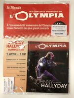 johnny hallyday concerts mythiques de l'olympia 2000 1 cd + 1 livre neuf bliste