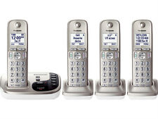 Panasonic KX-TGD224N 4 Handset Cordless Phone Answering Machine