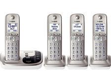 Panasonic KX-TGD224N 4 Handset Cordless Phone Answering Machine