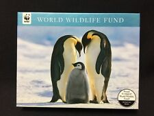 NWT WWF Penguins 2 Styles Holiday Note Cards set of 20 FS