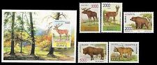 BELARUS. Wildlife. 1995-1996 Scott 129-134. MNH (BI#MKA)