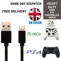 For XBOX ONE Black Charger GamePad Controller Charging Cable Micro USB Lead 1M