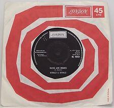 "RONALD & DONALD : DUCKS AND DRAKES 7"" Vinyl Single 45rpm Excellent"