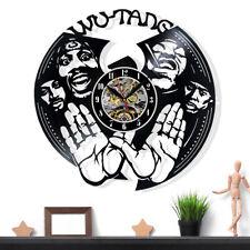 Wu Tang Clan Vinyl Record Wall Clock Gift Surprise Ideas Friends Birthdays Decor
