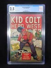 Kid Colt Outlaw #1    CGC 2.5    Syd Shores Cover and Art