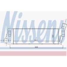 Intercooler - Nissens 96728