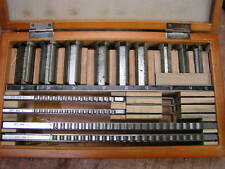 Amadeal 18pc Keyway Broach Set - HSS/Metric
