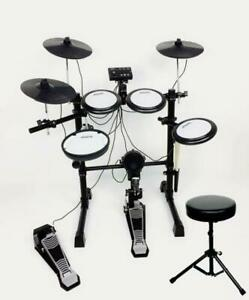 Aroma 5+3 ELECTRONIC DRUMS+Stool: Bass,Dual Zone Snare,3 Toms,3 Cymbals TDX-16S