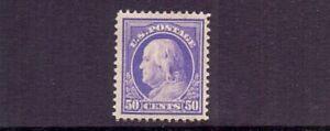 USA 1912 50c SG404 ( SCOTT 422 ) MH