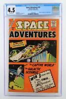 Space Adventures #33 - CGC 4.5 -CHARLTON 1960- 1st App & ORIGIN of Captain Atom