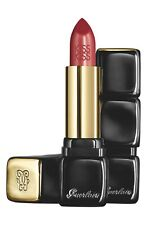 CS GUERLAIN/KISS KISS CREAMY SATIN FINISH LIPSTICK (320)RED INSOLENCE 0.12 OZ