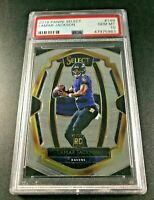 LAMAR JACKSON 2018 PANINI SELECT #149 ROOKIE RC PSA 10 GEM MINT BALTIMORE RAVENS
