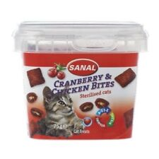 Sanal cat cranberry & chickenbites cup