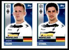 Topps CL 2016-17 QFA11/QFA12 Lars Stindl/André Hahn Borussia Mönchengladbach