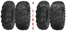 Mud Rebel 25x8-12 & 25-10-12 Sedona ATV Tire Lite Bear SET OF FOUR Claw 4 Tires