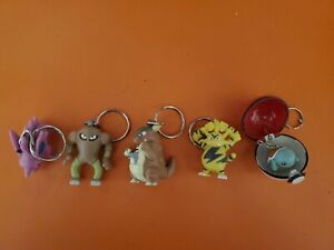 1999 Burger King Pokemon Lot of 5