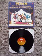 Sesam Sesame Street The Muppets Kermit The Frog Dutch Import CS 1976 Vinyl LP