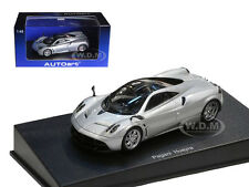 PAGANI HUAYRA METALLIC SILVER 1/43 DIECAST CAR MODEL BY AUTOART 58206