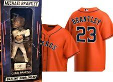 Houston AstrosMICHAEL BRANTLEY Batting Bobblehead + Orange Jersey 2 in 1! NEW!
