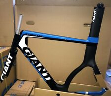 NEW 2014 GIANT TRINITY ADV SL 0 FRAME, FORK, SEATPOST LARGE COMPOSITE/BLUE/WHITE
