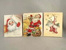 Christmas Cards Greeting Grandpa Scrapbook Crafts Vintage Some Issues