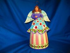 """Jim Shore Angel Stitched with Love 9"""" Nwt Quilting Angel Sewing 4007245 2006"""