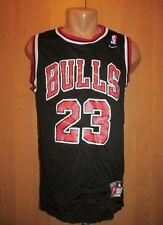 CHICAGO BULLS #23 MICHAEL JORDAN SWINGMAN BASKETBALL JERSEY SHIRT BLACK NIKE (M)