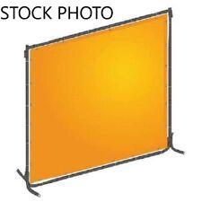 WESTWARD 22RN69 Welding Screen, 6 ft. W, 6 ft., Yellow