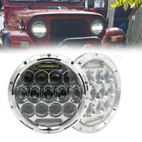 2x7 inch LED headlight project For Toyota Landcruiser for jeep wrangler