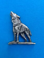 Howling Dire Wolf Pin.panic phish outdoor recreation pretty animal co dead