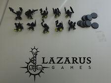 Warhammer 40k Ork, Orks - 10 Slugga Boyz, 8 w/ bionik legs