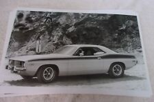 1973 PLYMOUTH BARRACUDA  11 X 17  PHOTO  PICTURE