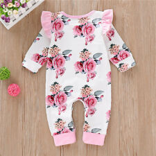 Children's clothing hot style big flower one-piece romper girls