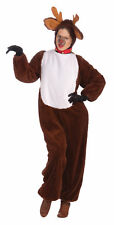 Reindeer Christmas Animal Unisex Costume Holidays Rudolph Santa Helper Halloween