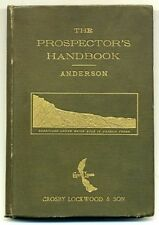 J. W.  ANDERSON The Prospector's Handbook 1891 5th Ed Revised Valuable Minerals