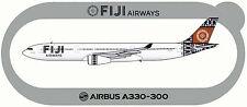 STICKER AUTOCOLLANT AIRBUS A330-300 FIJI AIRWAYS