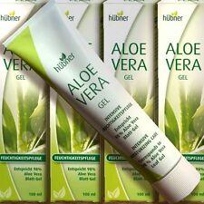 Hübner Aloe Vera Gel mit 98% Blattgel 100ml Feuchtigkeit Panthenol Bisabolol